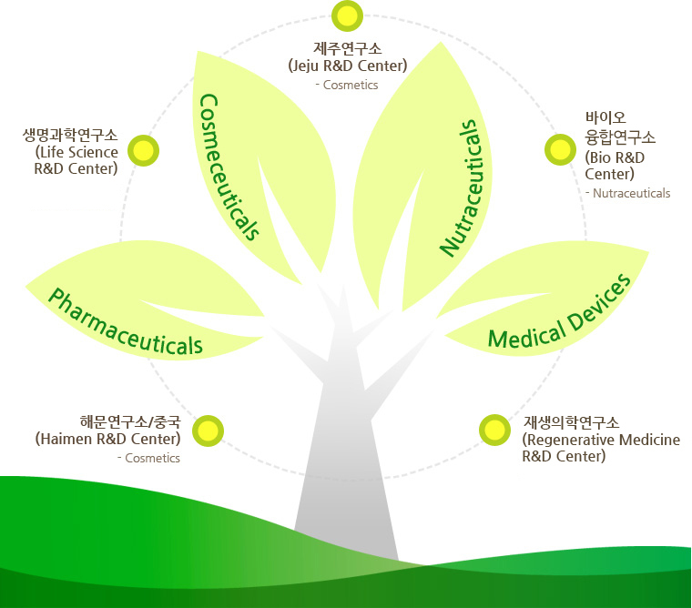 jeju cosmetics, china(haimen) cosmetics, ochang medical devices, ansan nutraceuticals, osong cosmeceuticals pharmaceuticals