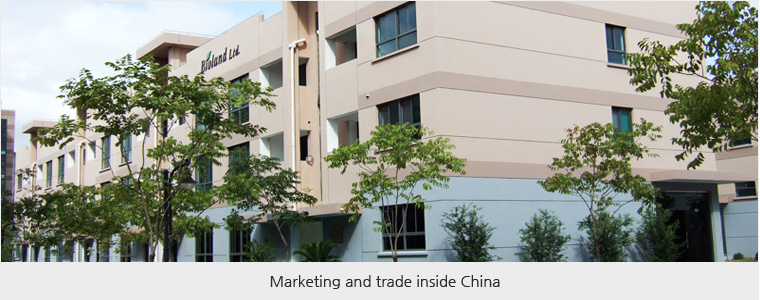 Marketing and trade inside China